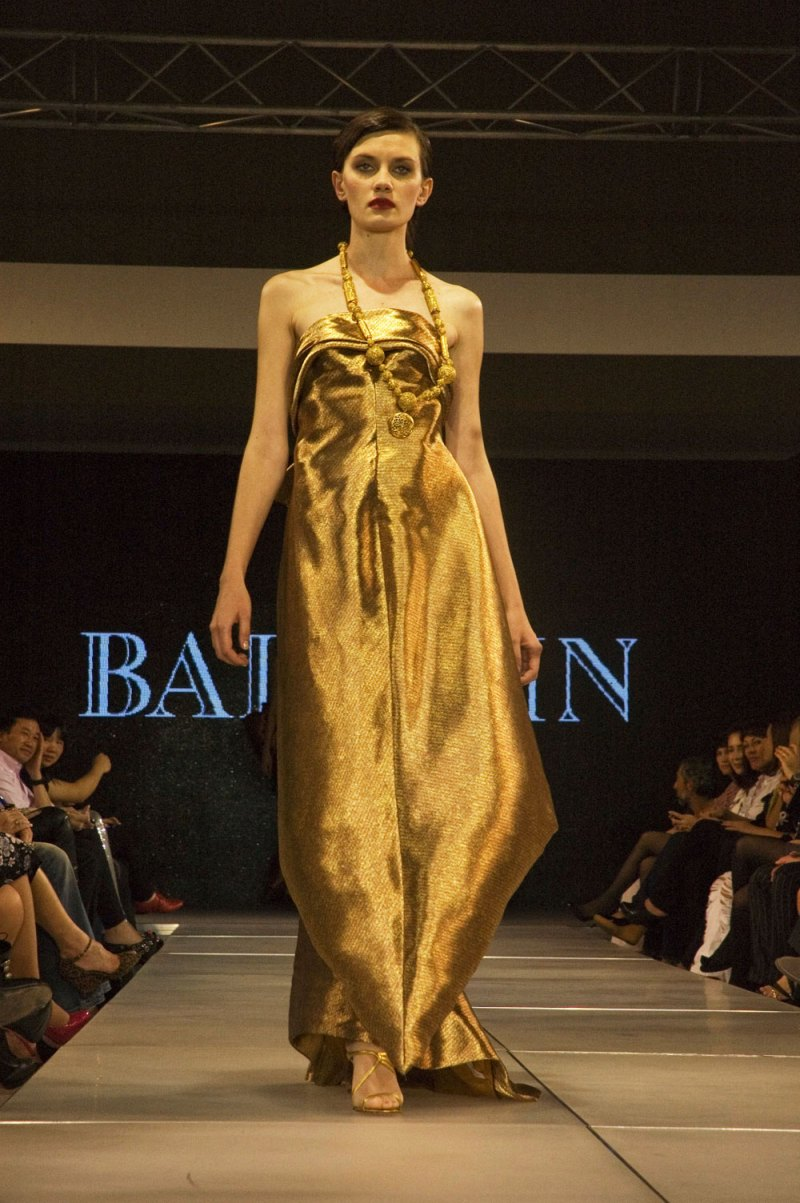 Balmain at Style.Uz Fashion Week, Uzbekistan.
