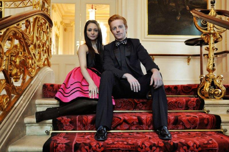 Royal Ballet's Steven McRae & Roberta Marquez at for The Ballet Bag magazine.